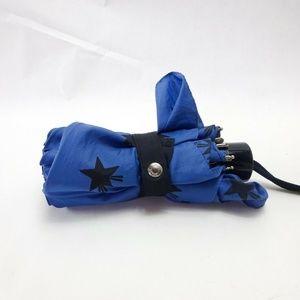 Coach Shooting Stars Compact Folding Umbrella